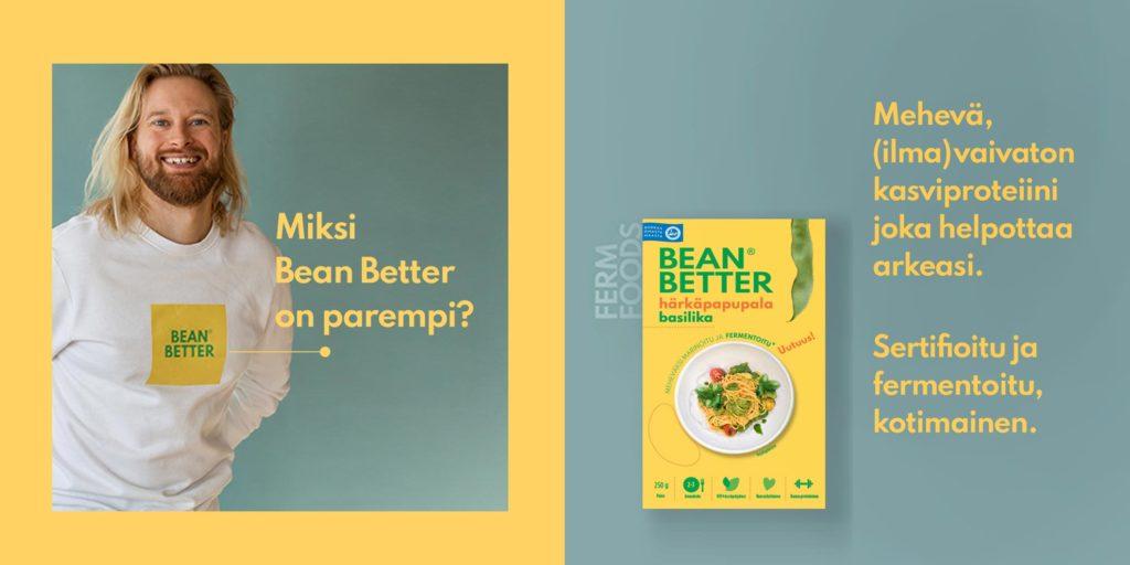 Bean Better ja Miki Puikkonen on mukana Suomalainen Menestysresepti kilpailussa